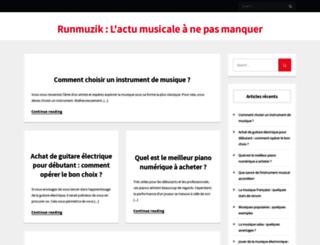 runmuzik.fr screenshot