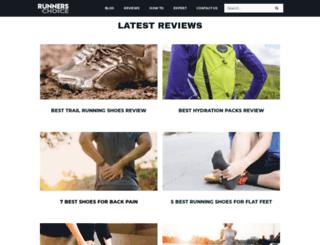 runnerschoice.net screenshot