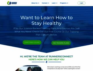 runnersconnect.net screenshot