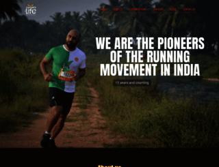 runnersforlife.com screenshot