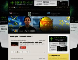runnerspace.com screenshot