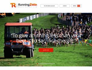 running2win.com screenshot