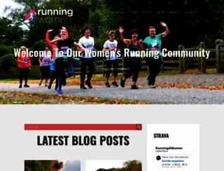 running4women.com screenshot