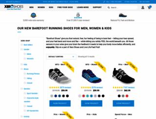 runningbarefoot.org screenshot