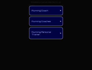 runningcoachlondon.co.uk screenshot