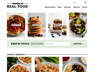 runningonrealfood.com screenshot