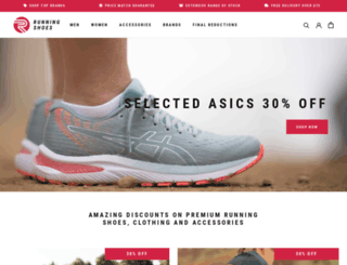 runningshoes.co.uk screenshot