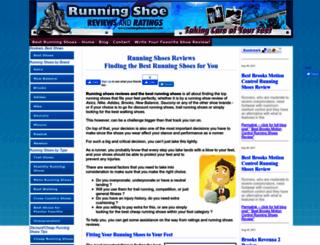 runningshoeswizard.com screenshot