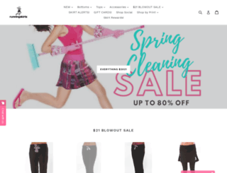runningskirts.com screenshot