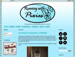 runningwithpixies.blogspot.com screenshot
