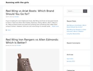 runningwiththegirls.com screenshot