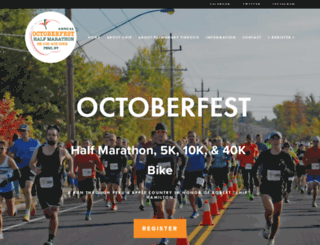 runoctoberfest.com screenshot