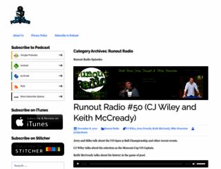 runoutradio.com screenshot