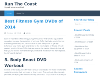 runthecoast.com screenshot