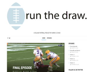 runthedraw.com screenshot