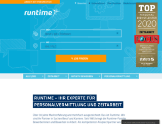 runtimegroup.com screenshot