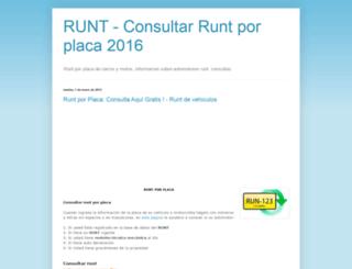 runtporplaca.blogspot.com screenshot