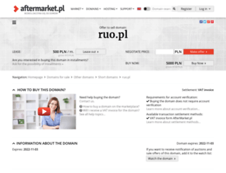 ruo.pl screenshot