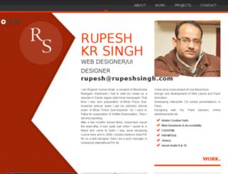 rupeshsingh.com screenshot