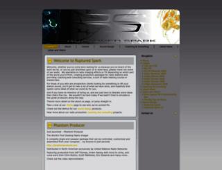 rupturedspark.com screenshot