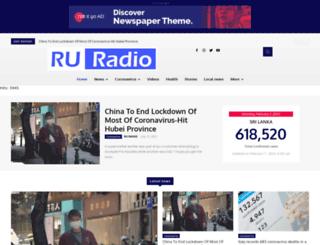 ruradiolk.com screenshot