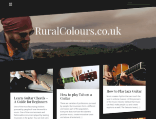 ruralcolours.co.uk screenshot
