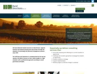ruraldirections.com screenshot