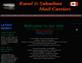 ruralmailcarriers.ca screenshot