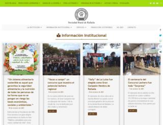 ruralrafaela.com.ar screenshot