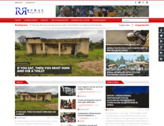 ruralreporters.com screenshot