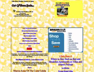 ruralspain.co.uk screenshot