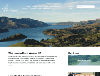 ruralwomen.org.nz screenshot