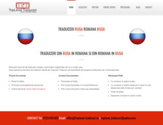 rusa.toplevel-traduceri.ro screenshot