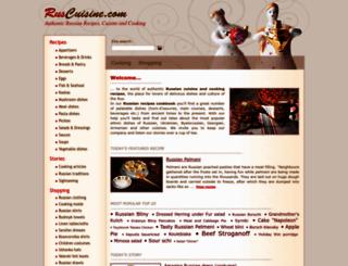 ruscuisine.com screenshot