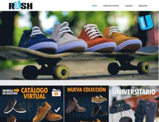 rush.com.ve screenshot