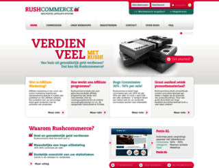 rushcommerce.com screenshot