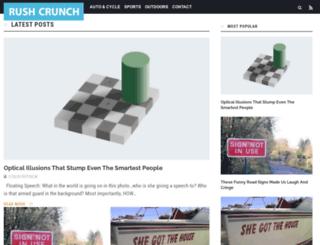 rushcrunch.com screenshot