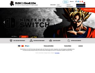 rushongame.com screenshot