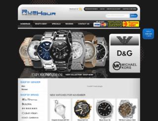 rushour.com.au screenshot