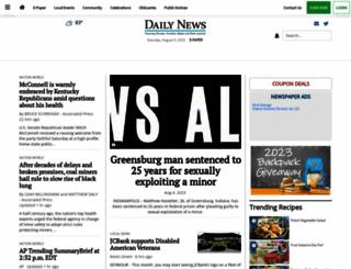 rushvillerepublican.com screenshot