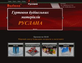 ruslana-budivelni-materialy.ua screenshot