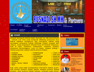 rusnadilawfirm.com screenshot