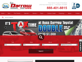 russdarrowtoyota.calls.net screenshot