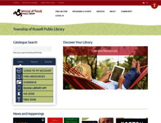 russellbiblio.com screenshot