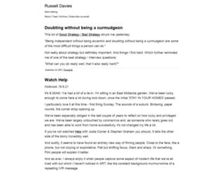 russelldavies.typepad.com screenshot