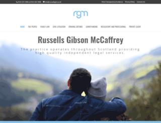 russellsgm.co.uk screenshot
