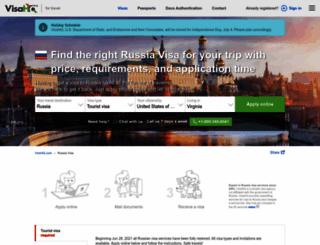 russia-visa.com screenshot