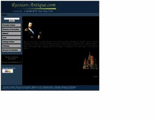 russian-antique.com screenshot