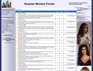russian-women-forum.com screenshot