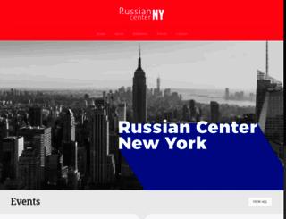 russiancenterny.org screenshot